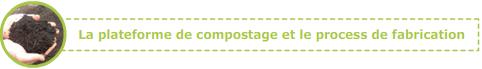 La plateforme de compostage et le process de fabrication