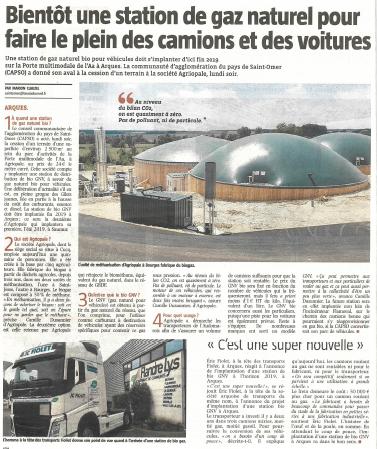 Article VDN bioGNV Arques
